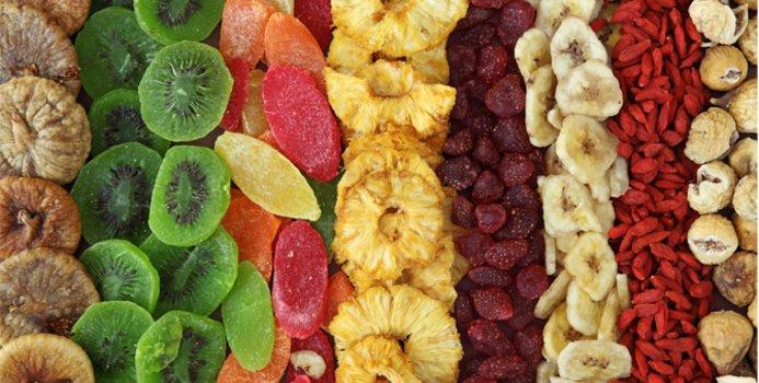 Torkad frukt