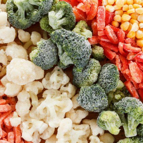 Fryst frukt & grönt