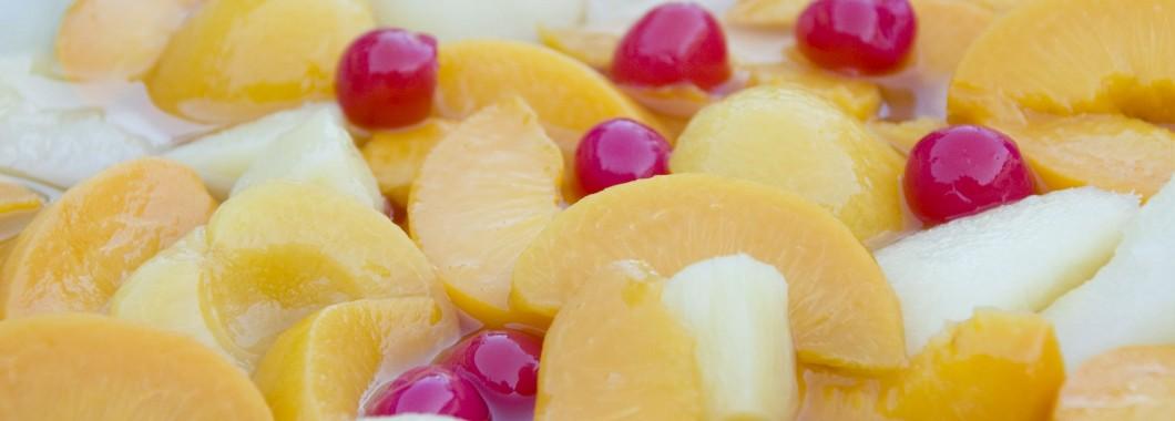 konserverad-frukt